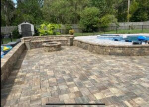 Patio deck pavers