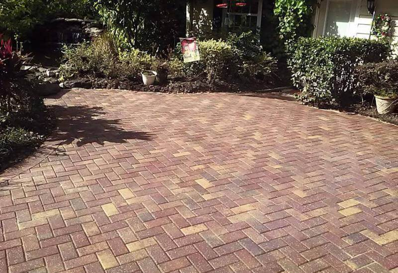 Brick pavers in Jacksonville